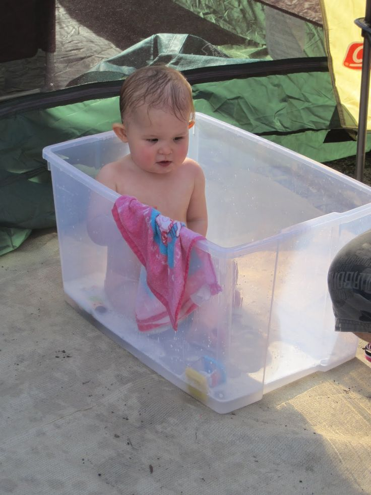Baby Bath Bucket For Camping