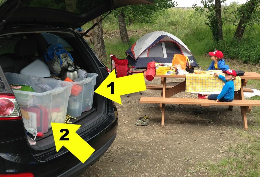 Camping Buckets