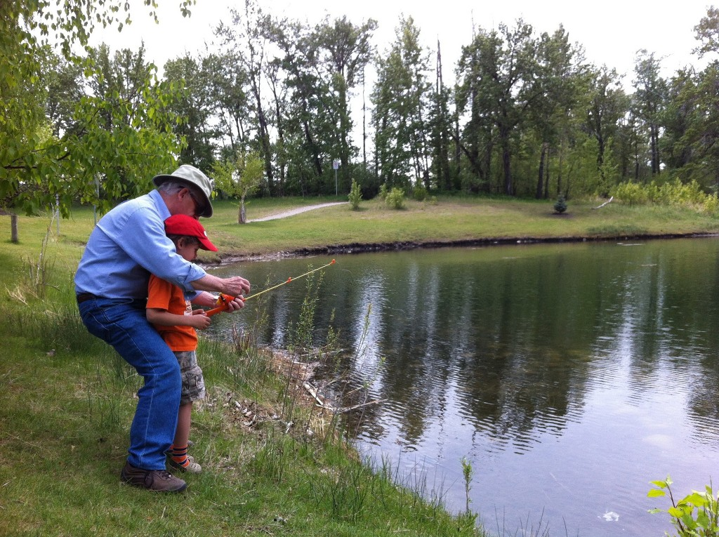 37 free things to do for kids in calgary this summer for Stocked fishing ponds