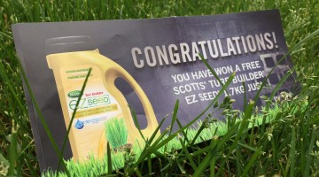 Win Scotts EZ Seed Turf Builder