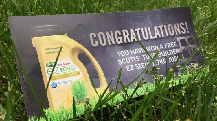 Win Scotts EZ Seed Turf Builder