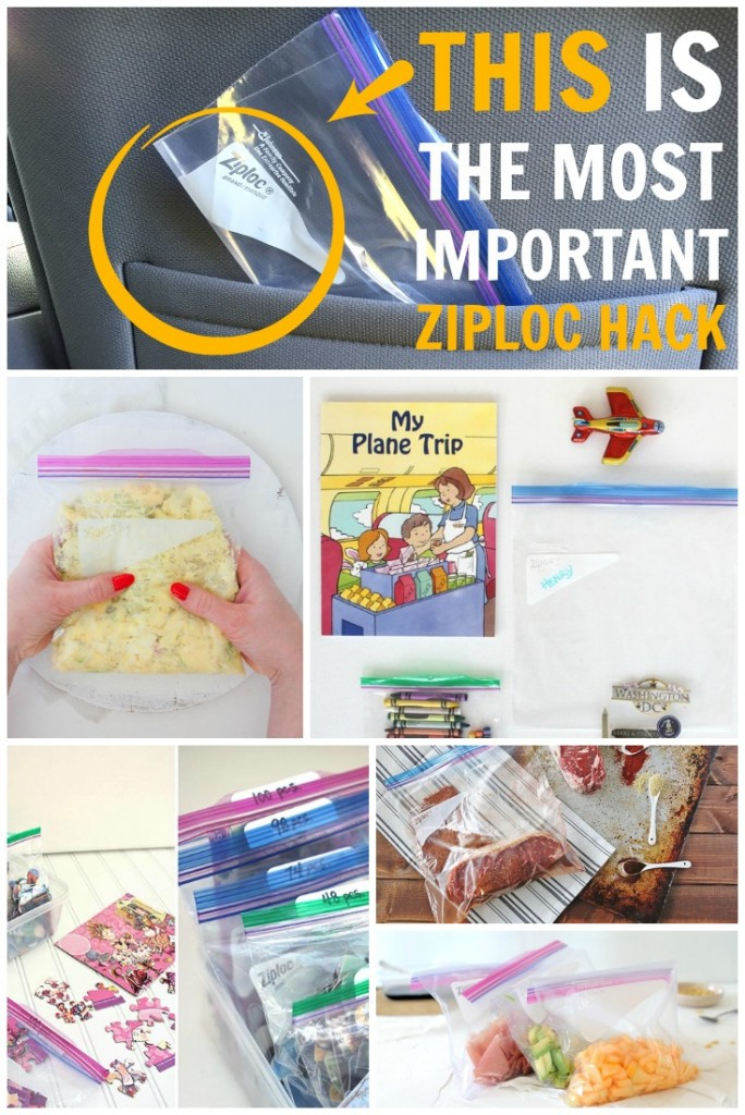 The Most Important Ziploc Hack For Parents