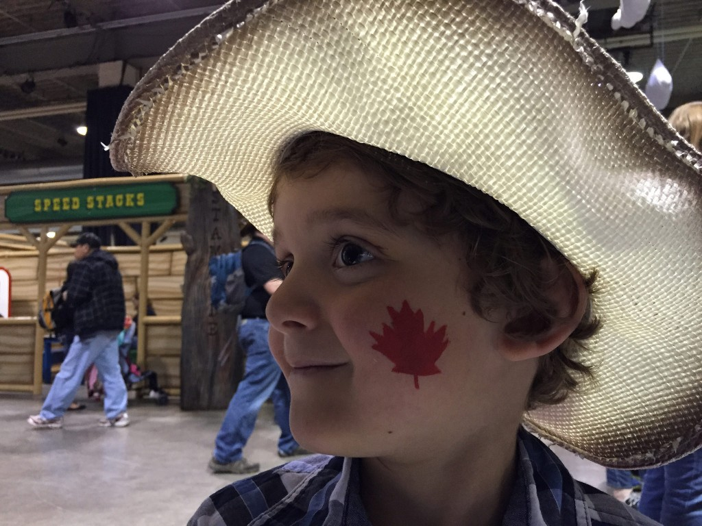Photo Essay Of A Day At The Calgary Stampede With Kids