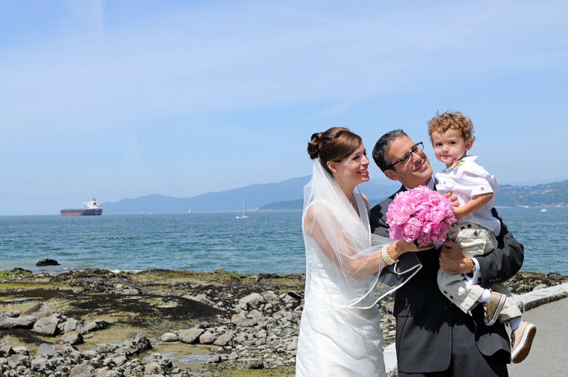 Vancouver Wedding in Stanley Park