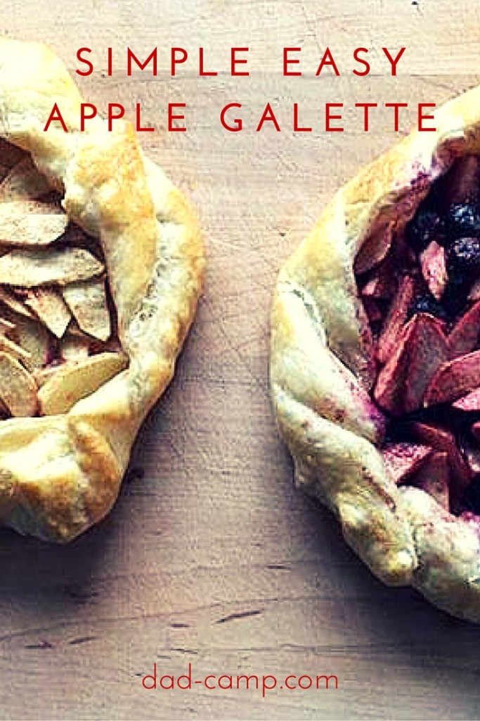 Simple and Easy #Apple #Galette #Recipe from DadCAMP