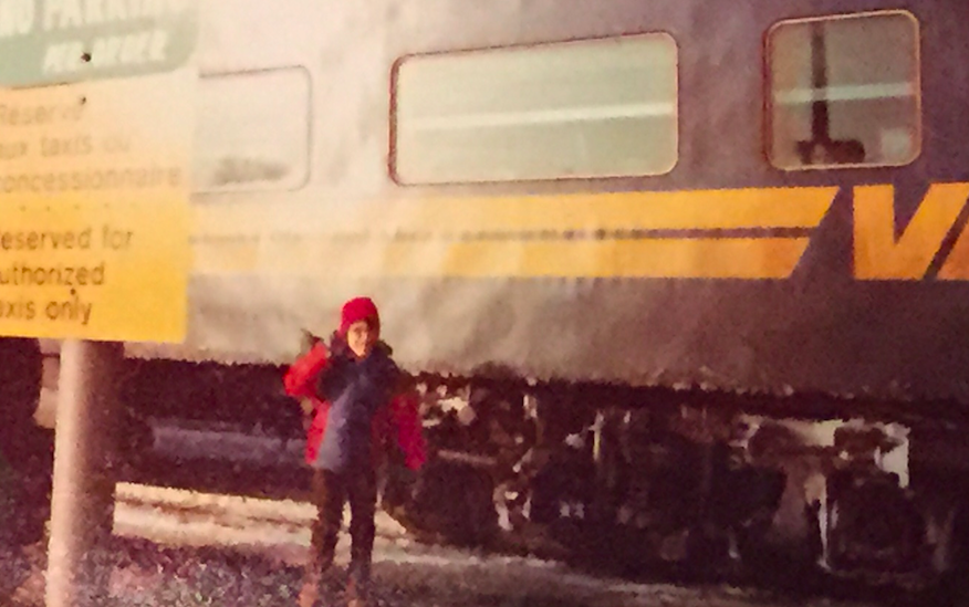 First Trip By Myself, January 1979