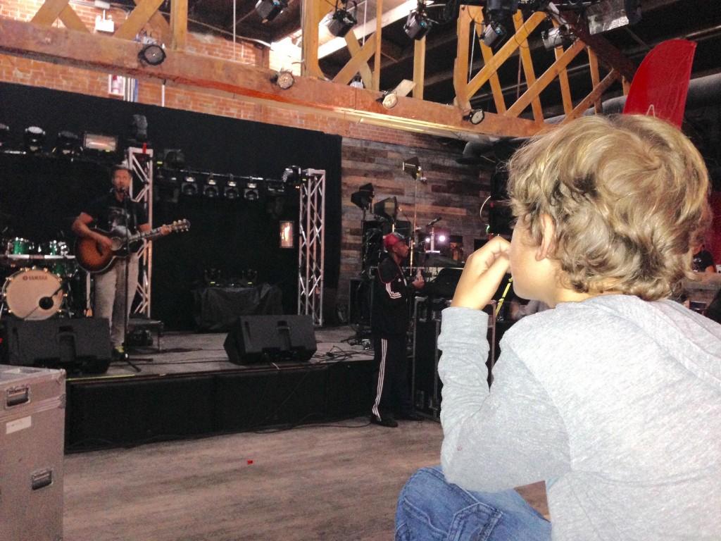 Zacharie watches Trevor Guthrie at Knoxville