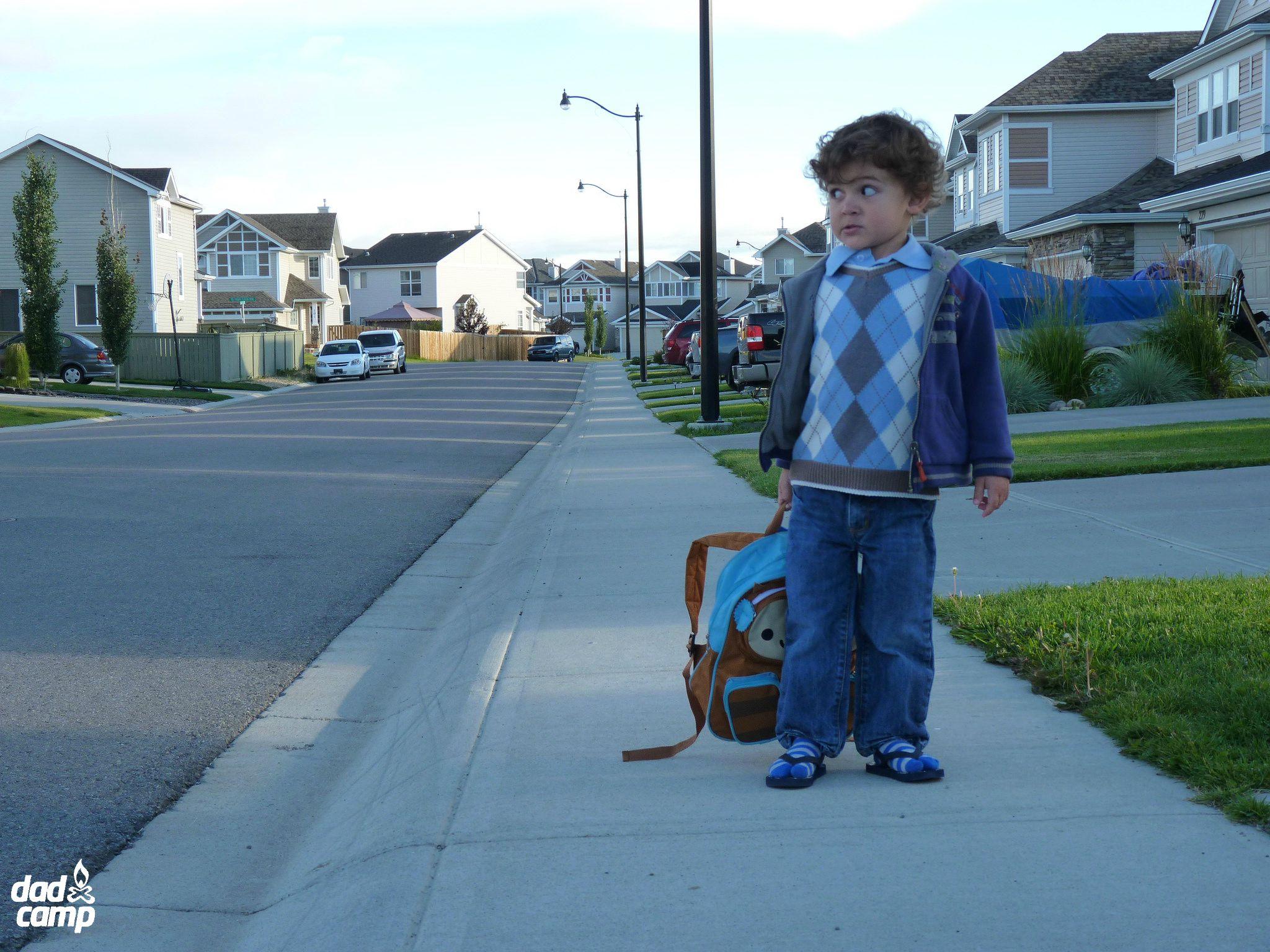zacharie first day of school