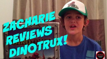 Zacharie Reviews Dinotrux