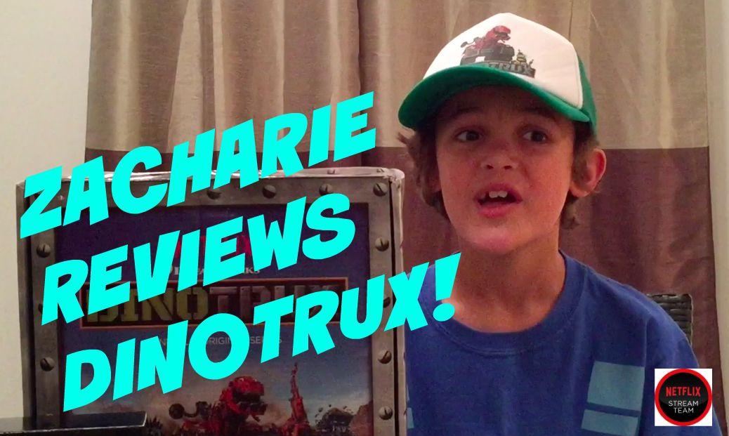 Zacharie Reviews Dinotrux