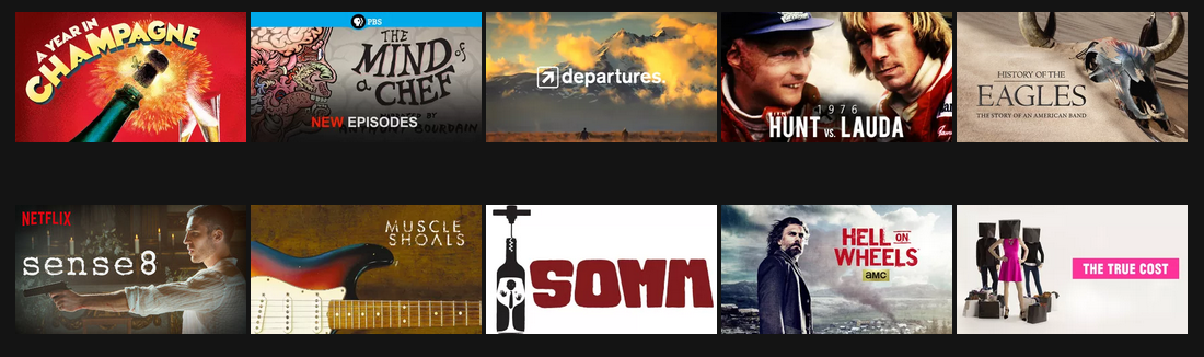 My List on Netflix