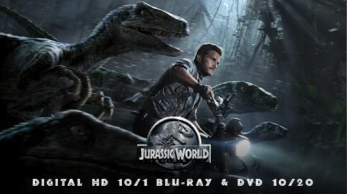 Jurassic World release dates