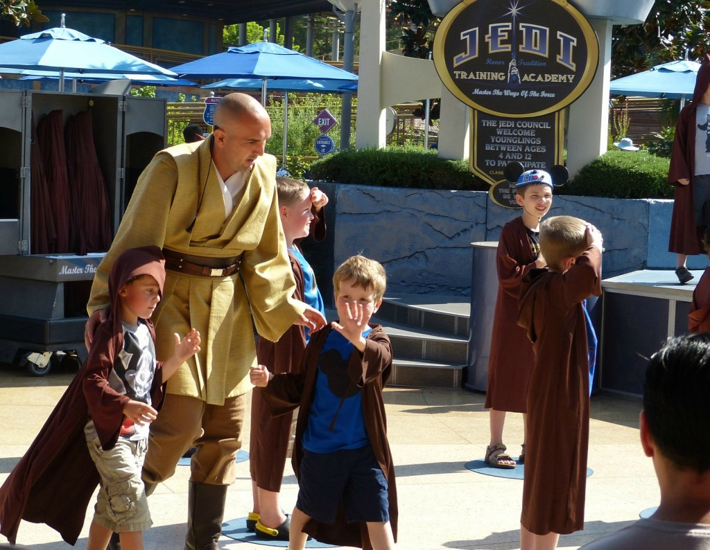 Charlie at the Star Wars Jedi Academy