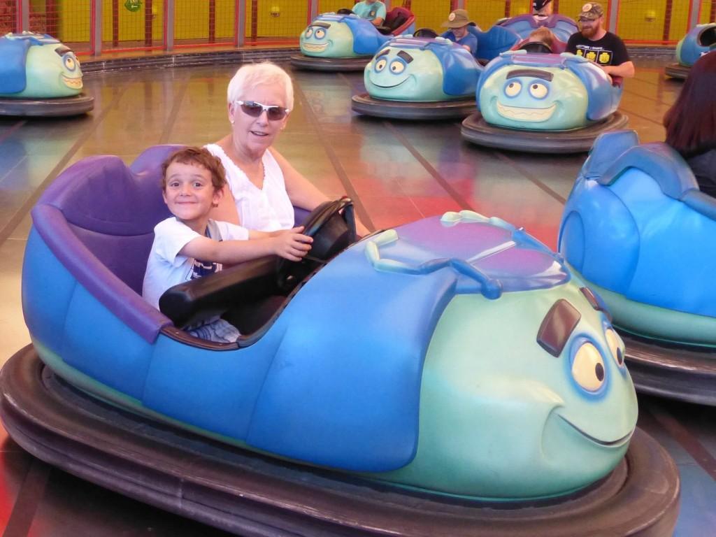 charlie rides disneyland bumpers