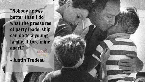 Justin Trudeau on family