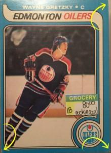 Gretzky rookie card