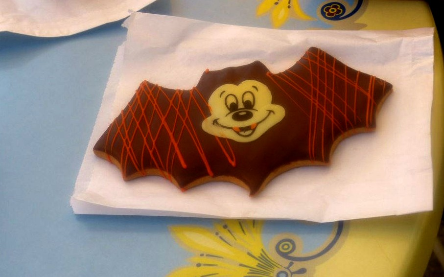 Mickey Mouse Vampire cookie