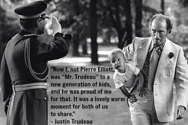 mr trudeau