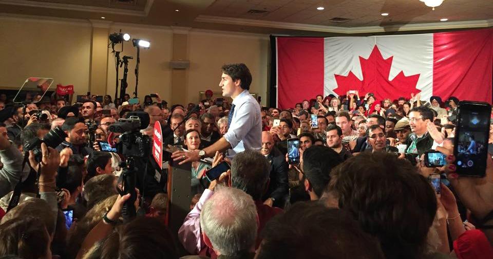 Trudeau Calgary
