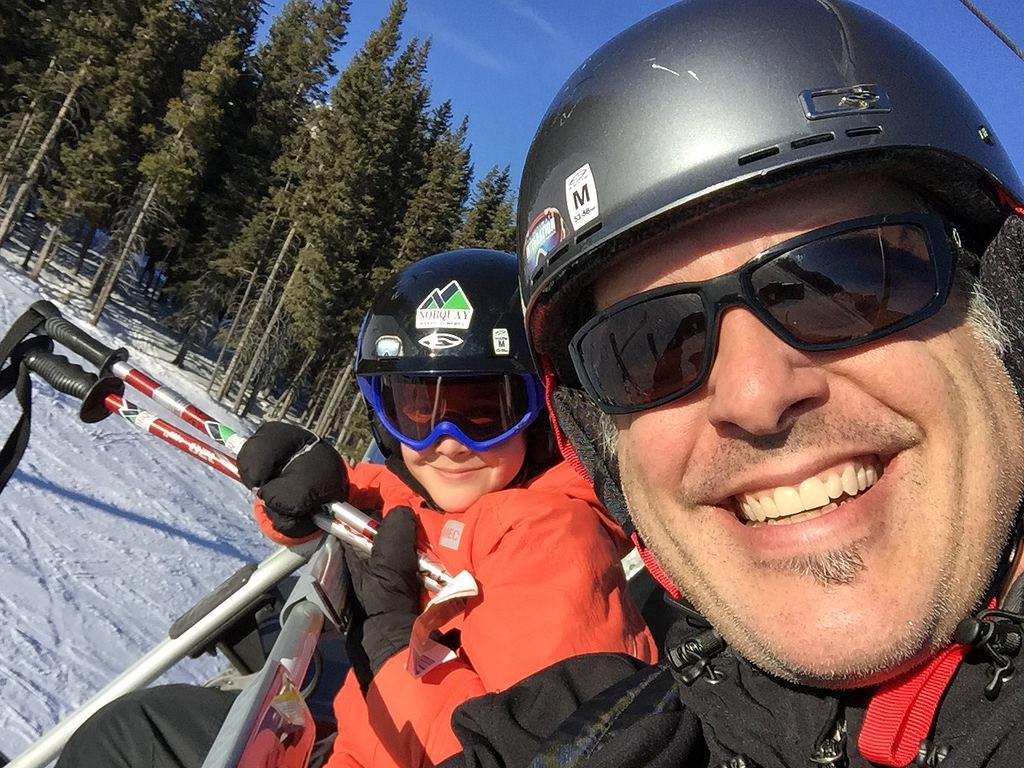 Skiing at Mount Norquay