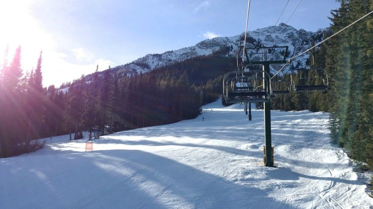 Chairlifts at Mount Norquay