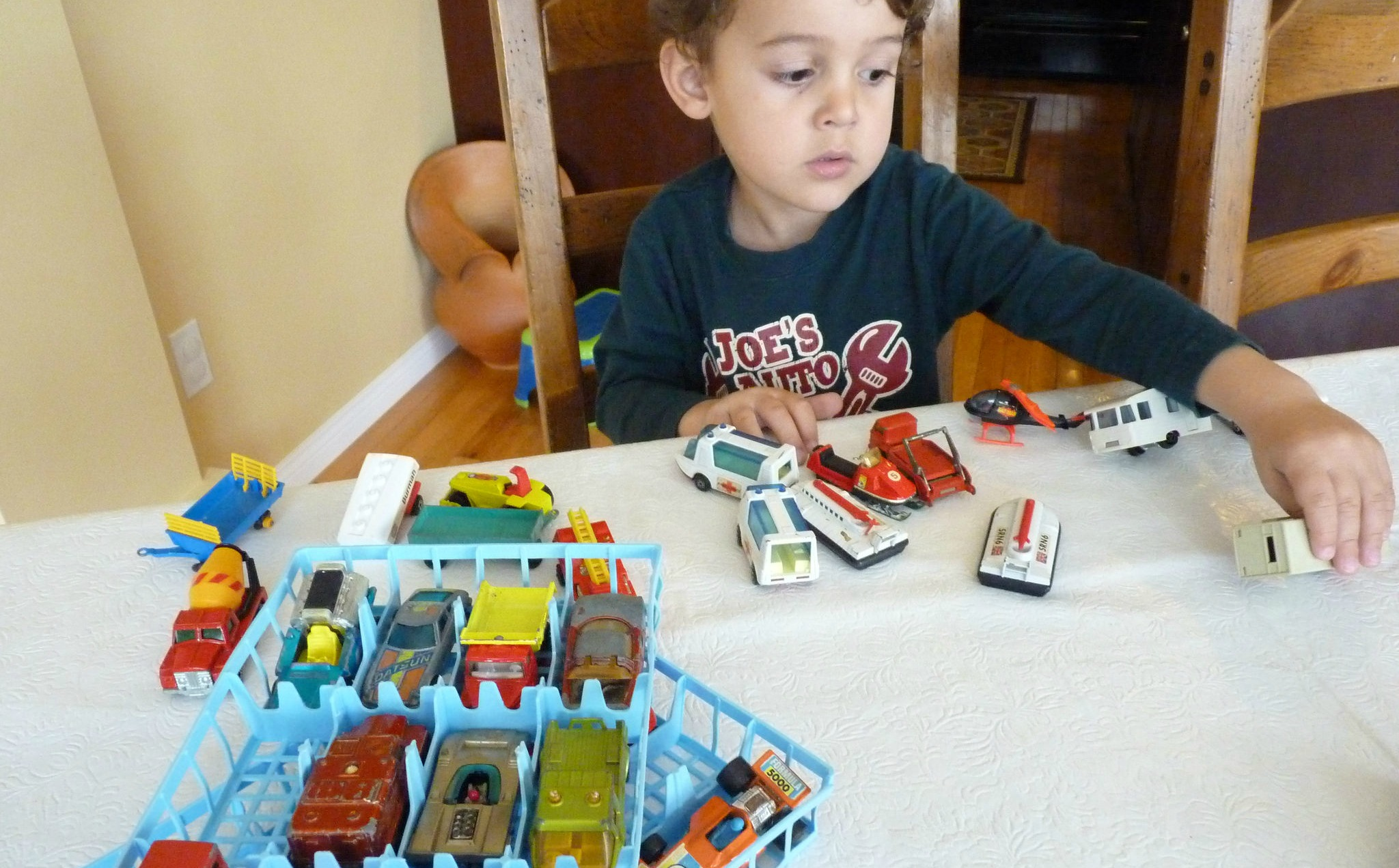 Old Matchbox cars