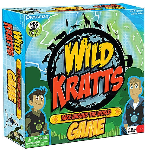 Wild Kratts Board Game