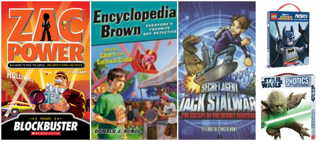 Zac Power and Encyclopedia Brown