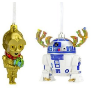 C3P0 and R2D2 Ornaments