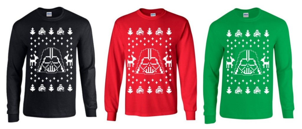 Darth Vader Ugly Christmas Sweaters