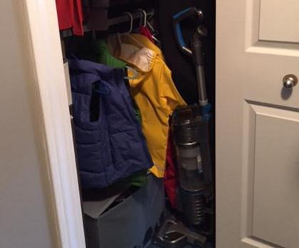 Hoover Closet