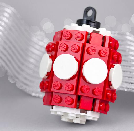 LEGO Christmas Ornament