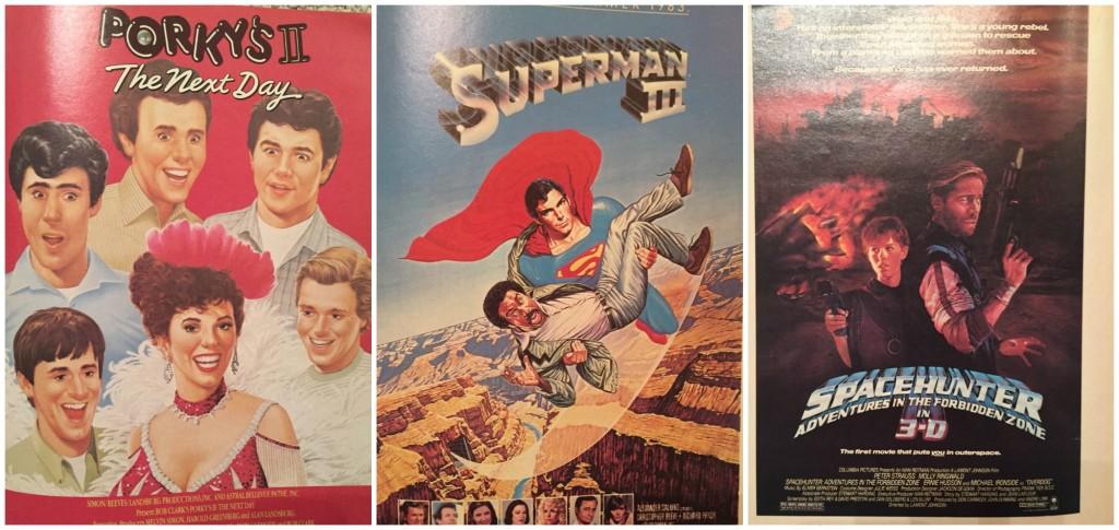 Vintage Superman Movie ad