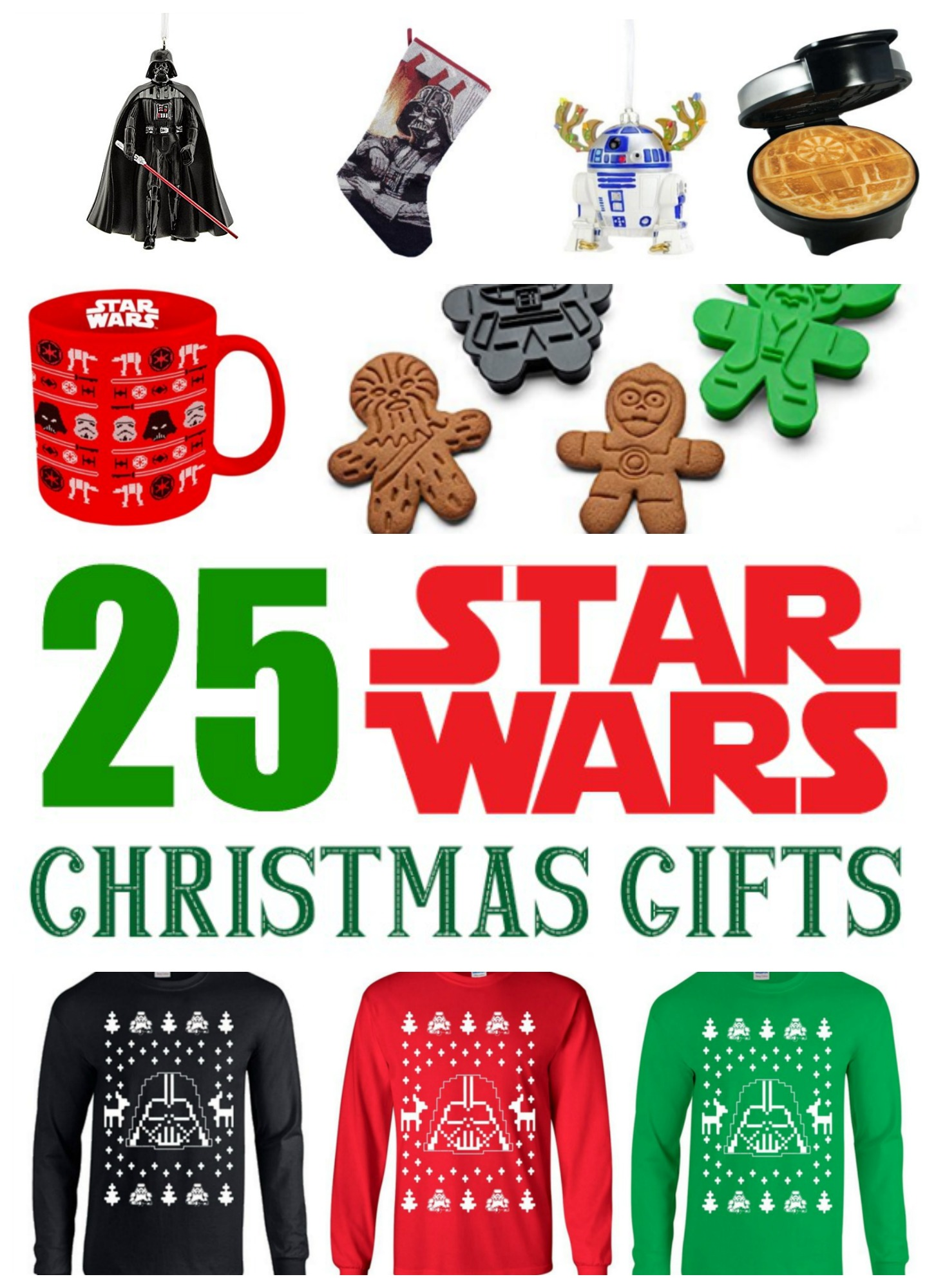 25 Star Wars Christmas Gifts