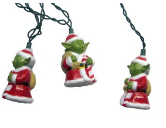 Yoda Christmas Lights
