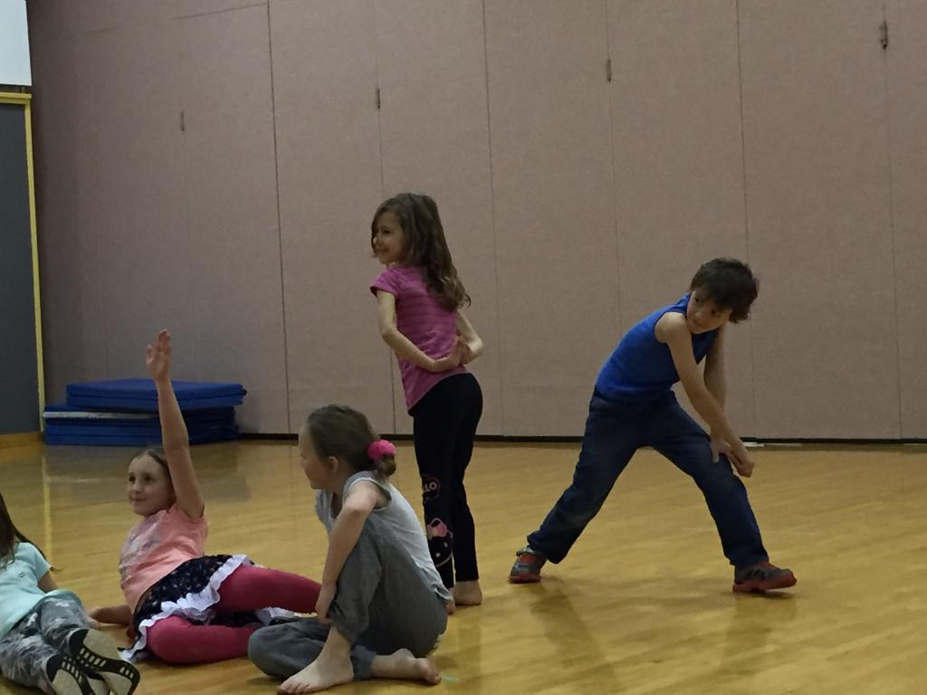 Zacharie in dance class