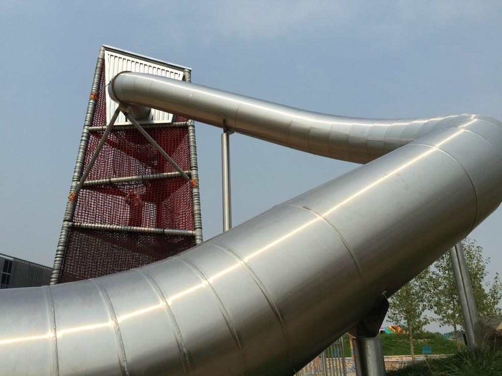 Big Slide at TELUS Spark