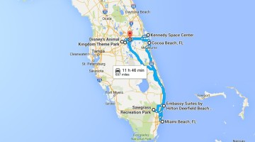 Spring Break Vacation to Florida Itinerary