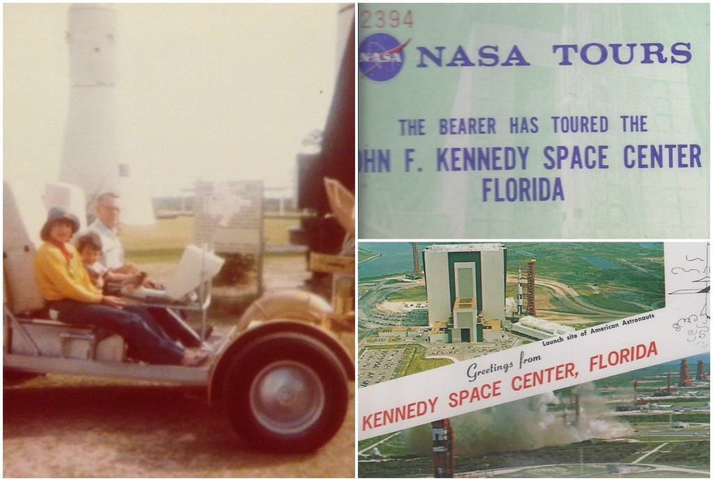 Kennedy Space Center visit in 1975