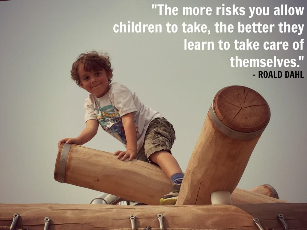 Roald Dahl Quote Charlie Playground