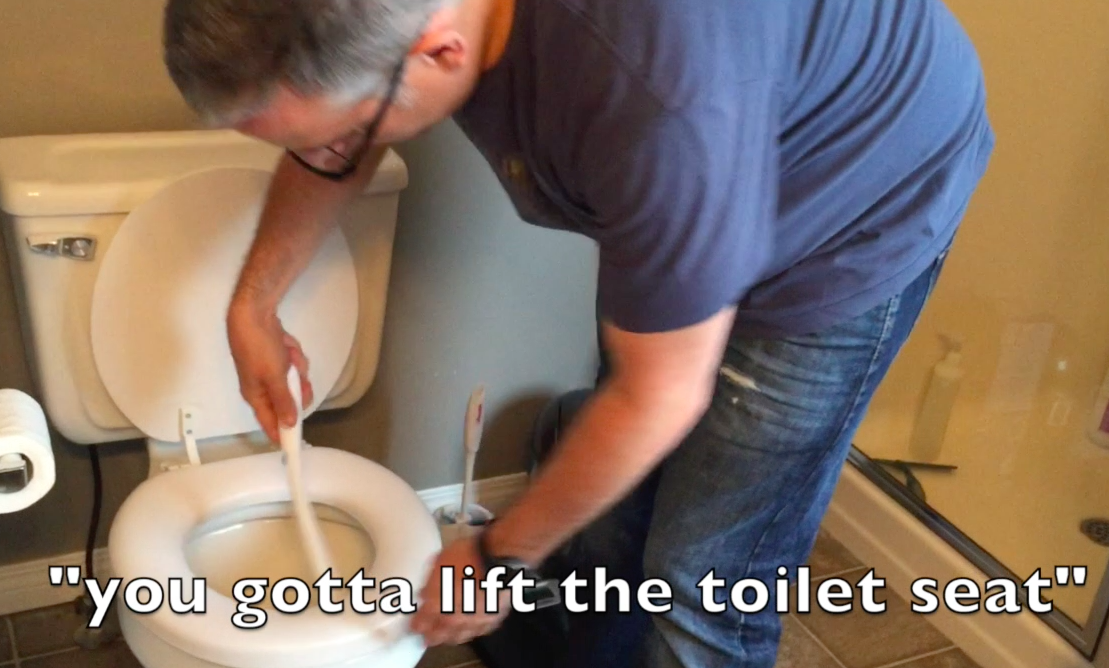 Stay In Your Lane Marriage: Until It Comes To Cleaning Toilets