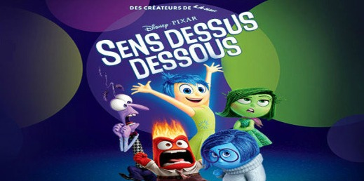 Inside Out in French is Sens Dessus Dessous