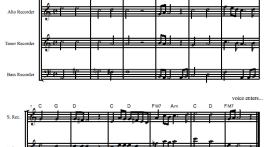 Stairway to Heaven recorder sheet music