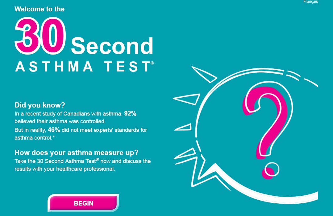 30 Second Asthma Test