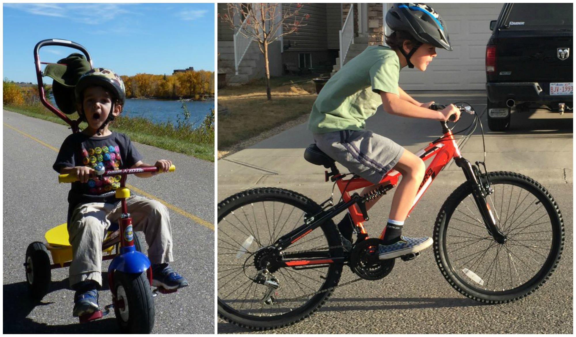 Zacharie Turns 5 Bikes Old