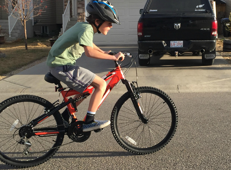 Zacharie's Orange Bike