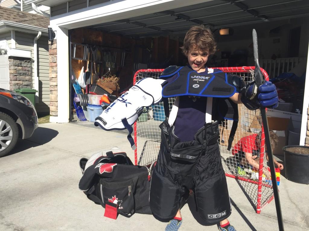 Zacharie Hockey Equipment
