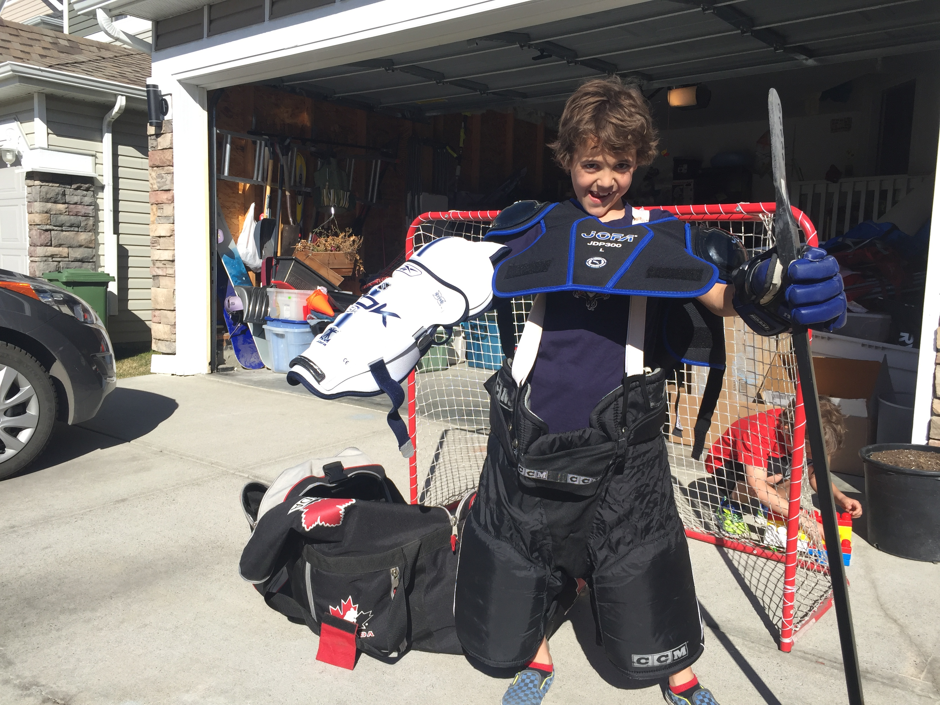 Zacharie Hockey Equipment