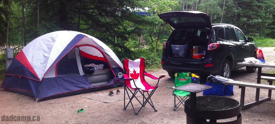 DadCAMP camping