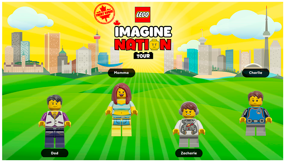 LEGO Imagine Nation Postcard
